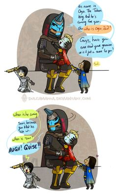 Daddy Cayde-6. I had no idea how much I needed this in my life before I saw it. <3