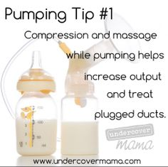 Pumping Tip#1 Compression and Massage #undercovermama  #nursing  #breastfeeding  #pumping