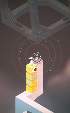 Love the USTWO games in Monument Valley with Ida & her Totem. . both challenging and interesting to play!