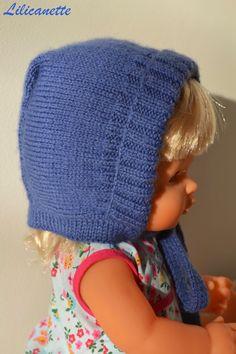 Lilicanette : Tricot- Bonnet bébé