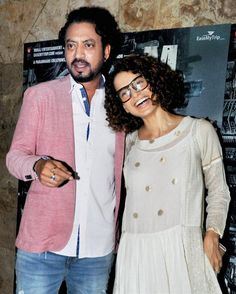 Kangana Ranaut attended Irfan Khan's Madaari screening giving us geeky vibes. She was wearing Pero's zari polka dot white dress. The beautiful and skillfully handwoven outfit gives us a modern twist to polka dots. Kangana carried out the loosely fitted dress with a great aplomb She teamed her look with a pair of black glasses …