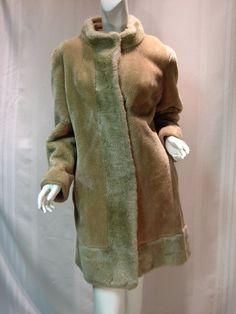Fun Vintage Faux Fur Coat  Career Originals by by VintageCreekside, $56.00