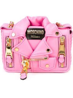 Moschino Biker Jacket Shoulder Bag - O' - Farfetch.com