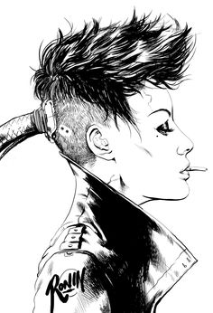 Ignore the cyberpunk stuff and it looks a lot like Zoe Arte Cyberpunk, Cyberpunk Tattoo, Cyberpunk Aesthetic, Art Punk, Character Art, Character Design, Space Opera, Post Apocalyptic Fashion, Poster S
