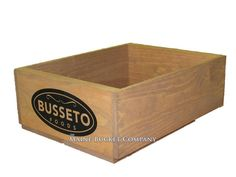 Wholesale Custom POP Wood Crate Display Fixtures - Point of Purchase Displays - Custom Wooden Crate Displays - Maine Bucket