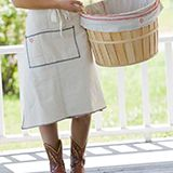 Shop Raw Materials Design - Love these aprons, plus her boots!