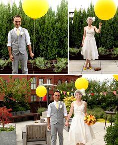 Real Wedding: Josie + Adams Modern Handmade Wedding