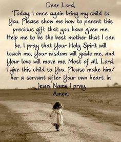 A mother's prayer ❥