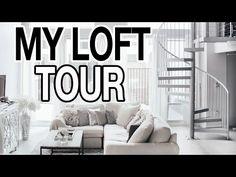 APARTMENT TOUR | My Downtown Loft - YouTube