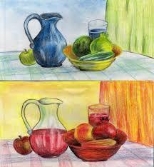 Image Result For عکس نقاشی با رنگ های سرد و گرم Painting Art Save