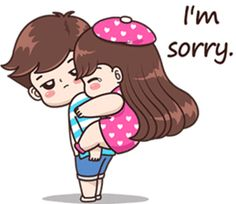 Tu aise wali sorry karte hua acchi lagti hai naa ke seedhi saadhi wali🤪🤣🤪I know you were pulling my leg but it's hard over the text.chul anyways, are we talking today.sachi yaar wanna listen to your voice ❤❤😍🥰😘😊 Cute Chibi Couple, Love Cartoon Couple, Cute Couple Comics, Cute Love Cartoons, Cute Love Couple, Cute Love Pictures, Cute Cartoon Pictures, Cute Love Gif, Cartoon Pics