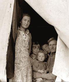 1930's - family living thru Depression