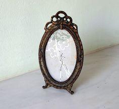French Art Nouveau Antique Photo Picture Frame in by Decofanatique
