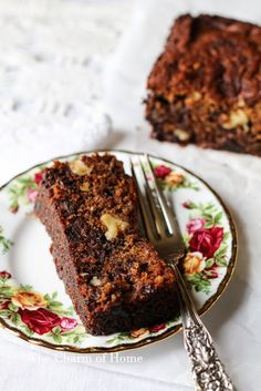 The Charm of Home: Date, Nut, Honey, and Chocolate Chip Cake