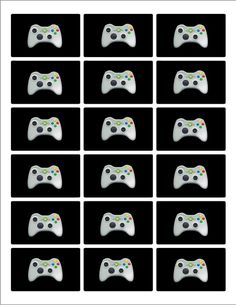 Xbox Mini Candy Bar Labels by pumpkinbeans on Etsy, $4.00