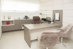 5 Home Office Decorating Ideas Office Cabin Design, Small Office Design, Medical Office Design, Office Furniture Design, Office Designs, Home Office Space, Home Office Decor, Doctors Office Decor, Doctor Office