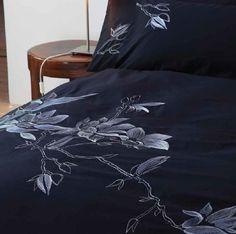 Margaret Muir MM Studio Medeira Madeira Black Queen Duvet Cover Set
