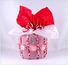 The art of gift decorating by Gina Tepper. Easy step-by-step instructions with photos on how to wrap unique and beautiful gifts for every occasion using scrapbooking and craft paper, silk flowers, ribbon, and beads. Recycled Gifts, Recycled Materials, White Day, Beautiful Gifts, Cute Crafts, Silk Flowers, Twine, Holiday Gifts, Unique Gifts
