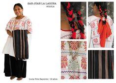 Traje típico de San Juan La Laguna, Solola