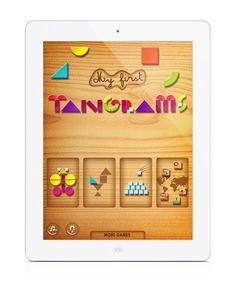 'My First Tangrams HD'   My kids love this app!