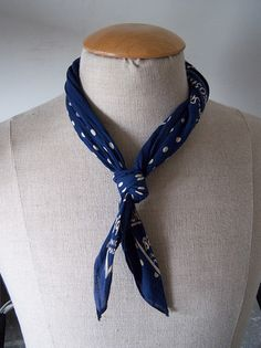 HOW TO: Knotting a Kerchief -- a necessity for the man.