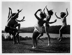 Children Dancing by the Lake by Haggerty Museum, via Flickr