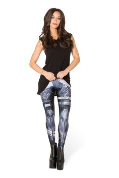 Mecha Leggings XS