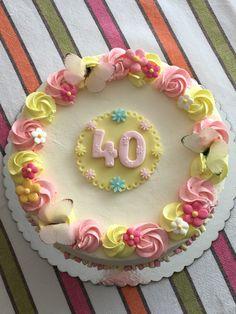 Tarta cumpleaños femenina