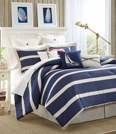 Sailor theme room ideas on pinterest sailor theme - Navy blue and yellow bedding ...