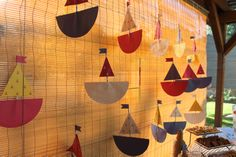 DIY :: Sail Boat Wall