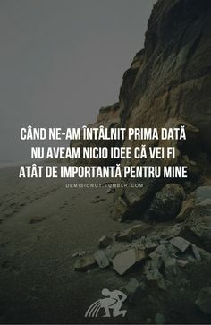 Am mers să te las acolo și am rămas cu tine 😉 Rap Quotes, Love Quotes, Inspirational Quotes, Just You And Me, Touching You, Best Friend Gifts, Beautiful Words, Quotations, Optimism