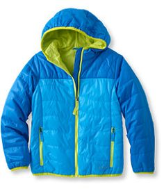 #LLBean: Girls' Puff-n-Stuff Jacket