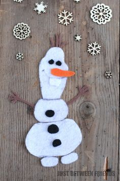 Make Your Own Olaf | Disney FROZEN #cbias - Just Between Friends