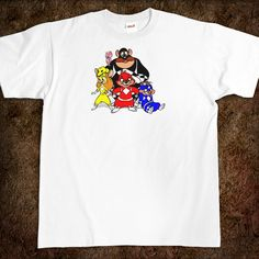 Chip 'N Dale Rescue Power Rangers T-Shirt  OMG!!!!