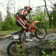 Jeff Vandiver #80  MHSC HBGP FMHSC MORE Ozark 100 Miler GNCC Racing