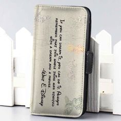 walt disney inspiration wallet case for iphone 4,4s,5,5s,5c,6 and samsung galaxy s3,s4,s5 - LSNCONECALL.COM