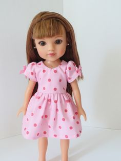 """Pink Suitcase PLUS for Wellie Wishers 14/"""" Doll Accessory Widest Variety"""