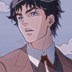 Jojo's Bizarre Adventure Anime, Jojo Bizzare Adventure, Cute Characters, Anime Characters, Otaku Anime, Anime Manga, The Big Hero, Jonathan Joestar, Jojo's Adventure