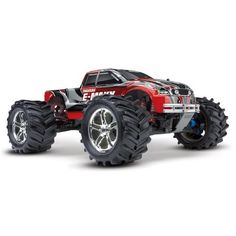 Amazon.com: Traxxas RTR 1/10 Monster E-Maxx Brushed 2.4GHz with 2 7-Cell Batteries: Toys & Games
