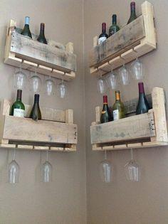 Reclaimed Wine Rack by DelHutsonDesigns