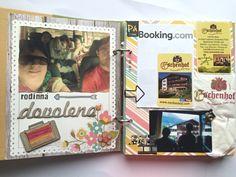 Sn@p! jako prázdninový deník Handmade Scrapbook, Travel Journals, Simple, Holiday, Vacations, Holidays, Vacation, Travel Magazines, Annual Leave