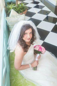 Photos by Clay - Bridal Portrait at The Carolina Inn Chapel Hill North Carolina