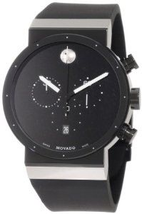 Movado Men's 0606501 Sapphire Synergy Chronograph PVD Stainless Steel Case Watch