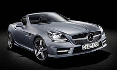 #Mercedes-Benz #SLK. La coupé sportiva filante, spigolare dall'aspetto ribassato.