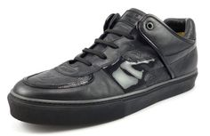 Louis Vuittons Mens Shoes Size 13/US 14 Tower Leather Sneakers GO1019 Black #distinctivedeals #mensfashion