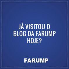 Não? Então corre lá! http://www.farump.com.br/blog/
