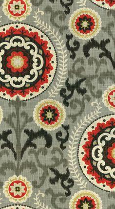 Home Decor Print Fabric- Waverly Inner Soul Graphite at Joann.com