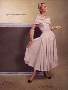 Jean Dessès 1950 Fashion Photography