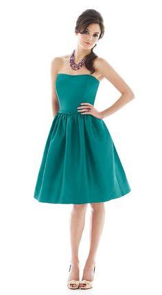 Teal Bridesmaid Dress | Dessy
