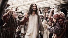 """Son of God"" starring Diogo Morgado as Jesus was adapted into a feature film from the History Channel's ""The Bible"" miniseries. Son Of God, You Are The Father, History Channel, The Bible Miniseries, Mark Burnett, Roma Downey, Matthew 16, Dear White, White Man"